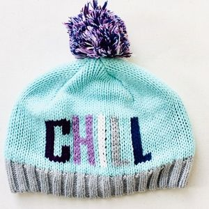 Gymboree Teal Chill Tuque